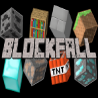 Click Minecraft Block Fall Online