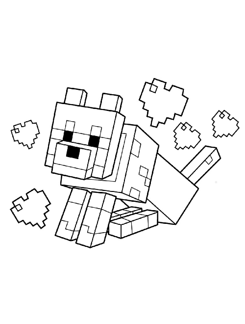 - Fun HTML5 Games - Play Minecraft Coloring Book Online