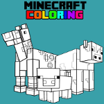 Minecraft Coloring Book